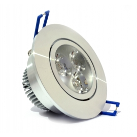 Spot Led Alu 3w Chrome
