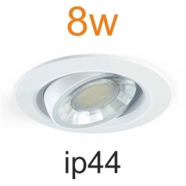Spot Led blanc rond 8w DIMMABLE