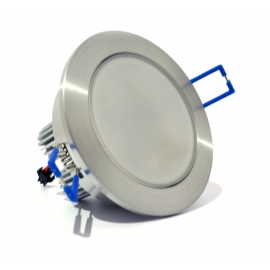 Spot Led Alu 5w + Diffusant dimmable