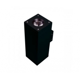 APPLIQUE LED SQUARE UP AND DOWN 15.3W Noir