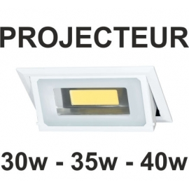 Projecteur LED encastrable 40W