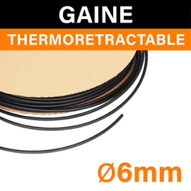 GAINE THERMORÉTRACTABLE - 6mm