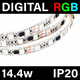 DIGITAL - RGB - 14.4w - IP20 - 5M