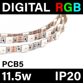 DIGITAL - RGB - PCB5 - 11.5w - IP20 - 5M