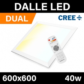 DALLE LED - DUAL COLOR - 600x600 - 40w