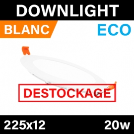 DOWNLIGHT - ECO - BLANC - 20W