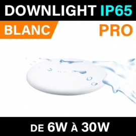 DOWNLIGHT - IP65 - PRO - BLANC