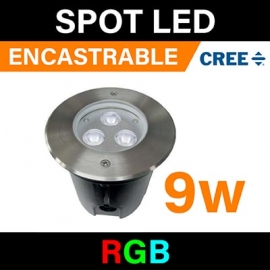 SPOT - ENCASTRABLE - 3W - 1 COULEUR