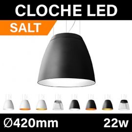 CLOCHE LED - SALT - 22W - 1 COULEUR