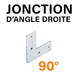 JONCTION D'ANGLE - PLATE - 90°
