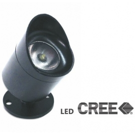 Spot led mini Black 3w