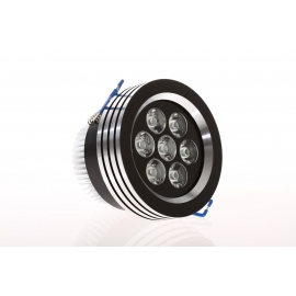 Spot Led 7w Ultra Black