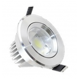 Spot Led  Alu 7w Chrome