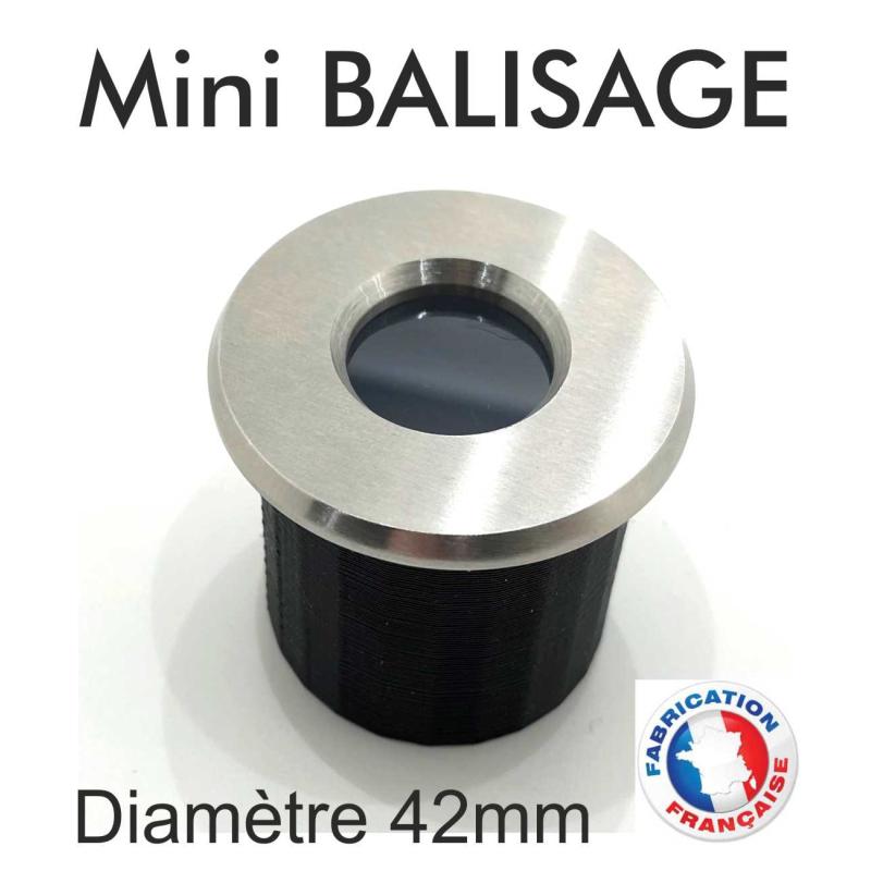 Spot Led mini Balisage / Blanc ou RGB