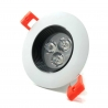 Spot Led Blanc 3w ( Black and White )