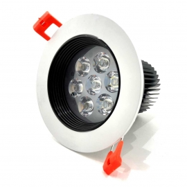 Spot Led Blanc 7w ( Black and White )