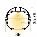 "Profile Led ""Round XL"""