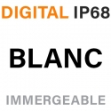 DIGITAL - IP68 - BLANC